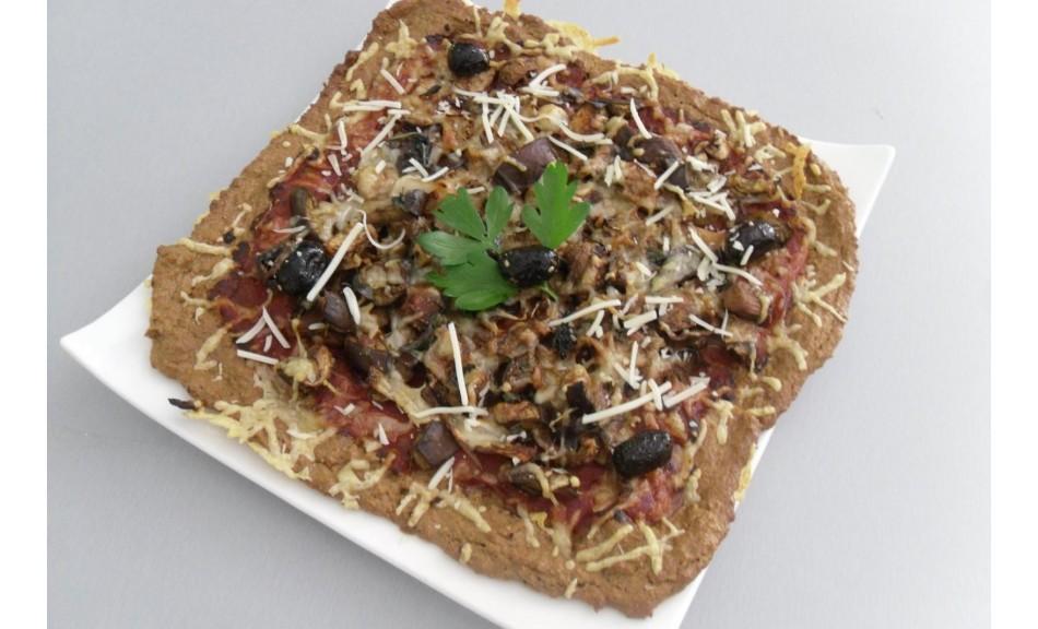 Enfin une recette de PIZZA saine et qui ne fait pas GROSSIR ! :)