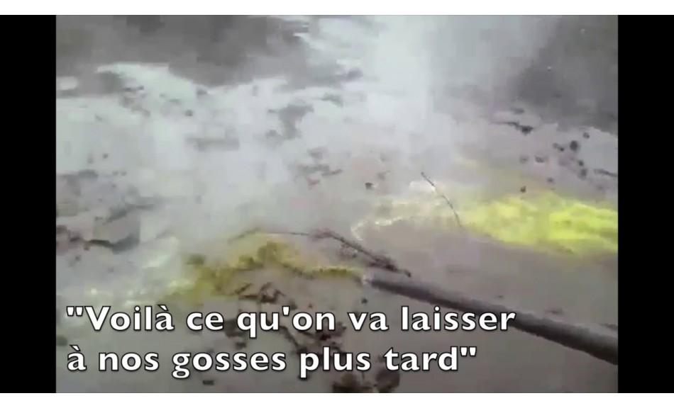 """VIDEO - Témoignage : """"J'ai déversé de l'acide d'ArcelorMittal Florange dans la nature"""""""