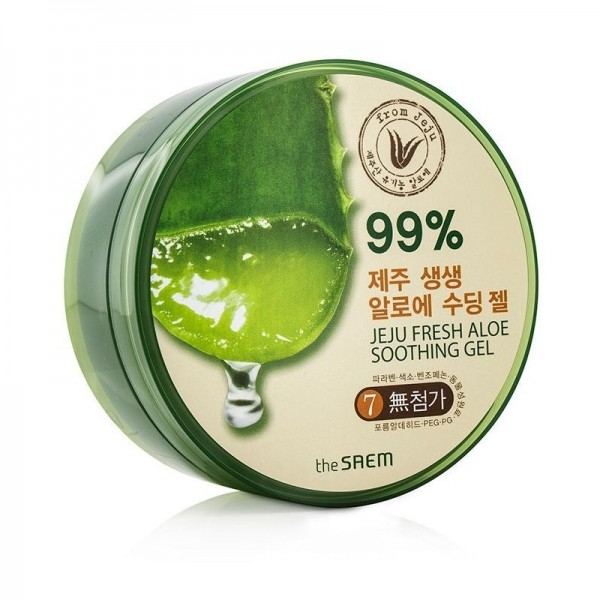 Gel d'aloe vera 99% pur organique The Saem