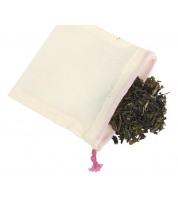 Lot de 5 sachets à thé réutilisables