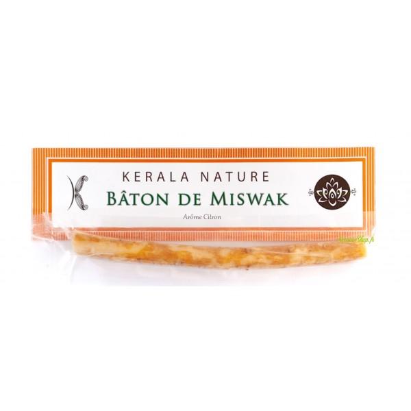 Bâton de Miswak arôme citron - Siwak