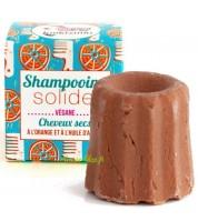 Shampooing solide pour cheveux secs à l'orange & argan