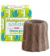 Shampooing solide BIO pour cheveux gras à la litsée citronnée