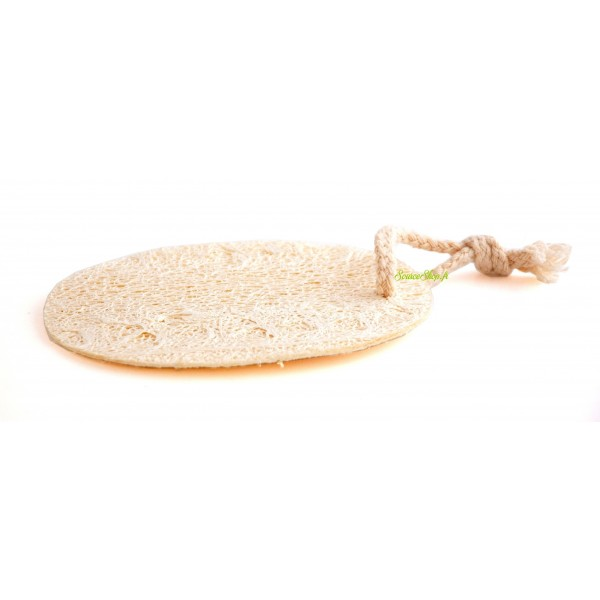 Loofah rond naturel