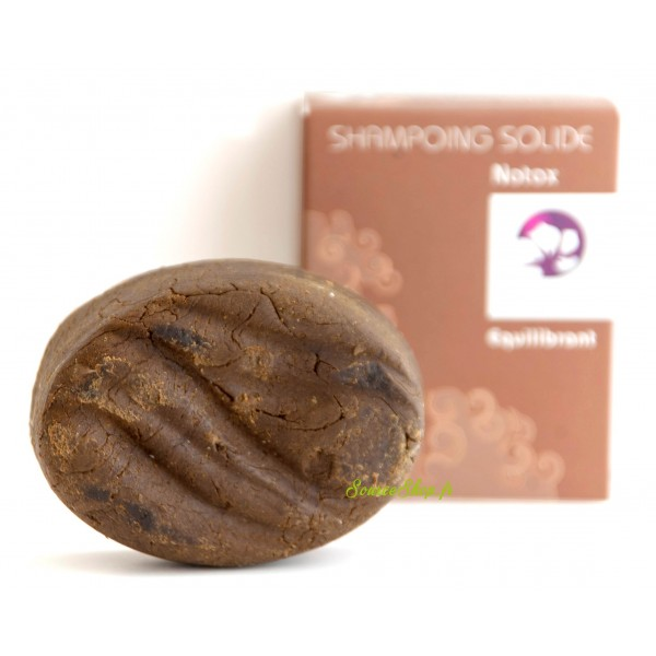 Shampooing solide pour cheveux gras au basilic sacré & vinaigre de cidre - Pachamamaï