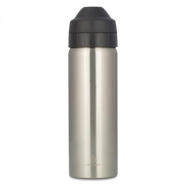 Gourde inox isotherme - 600ml - Silver - Ecococoon