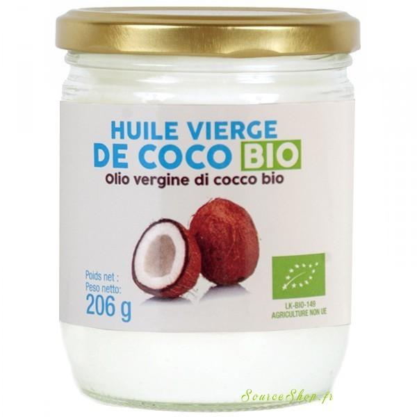 Huile de coco vierge BIO - 206 g