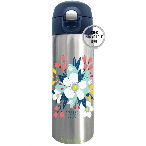 Mug inox isotherme Trendy - 350ml - Bouquet