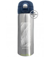 Mug inox isotherme Trendy - 350ml - Palmier