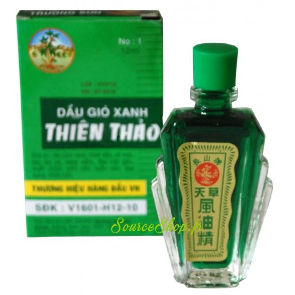 Huile médicinale vietnamienne Dầu gió xanh Thiên Thảo