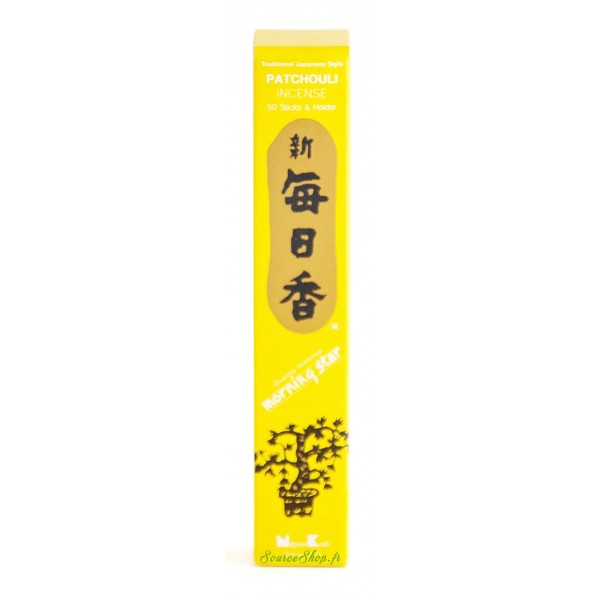 Encens japonais Patchouli - Morning Star - Nippon Kodo