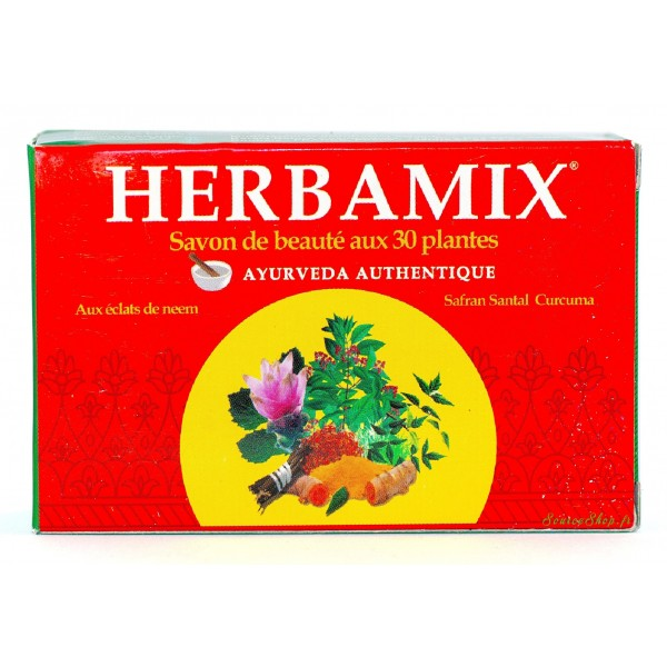 Savon ayurvédique Herbamix aux 30 plantes