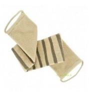 Lanière de gommage en coton & lin BIO