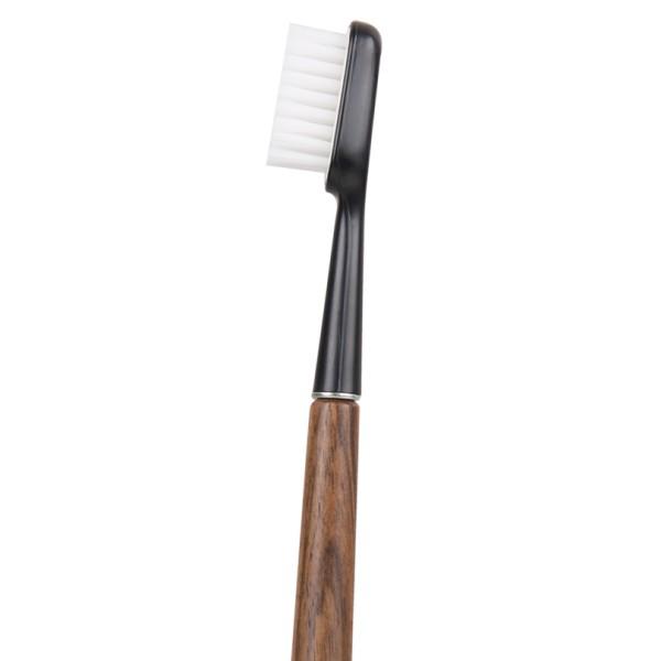 Brosse à dents rechargeable en bois de noyer Caliquo