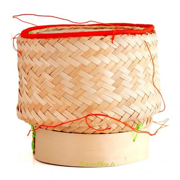 Panier en bambou pour riz - réutilisable & biodégradable