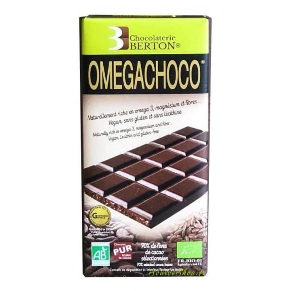 Chocolat noir Omegachoco