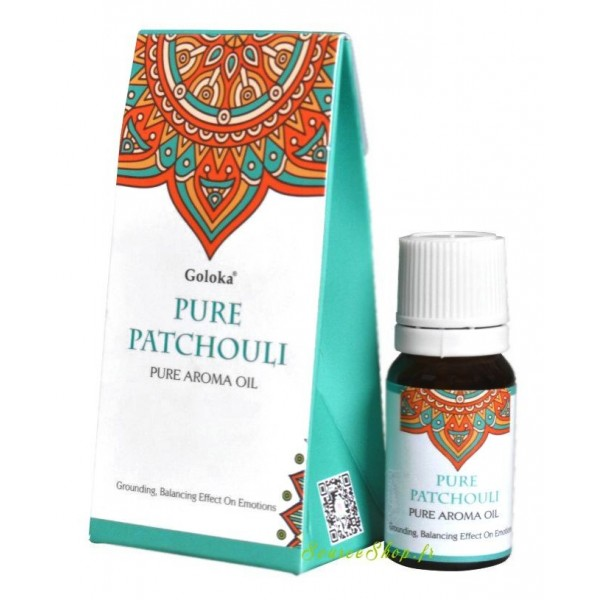Huile aromatique Patchouli - Goloka