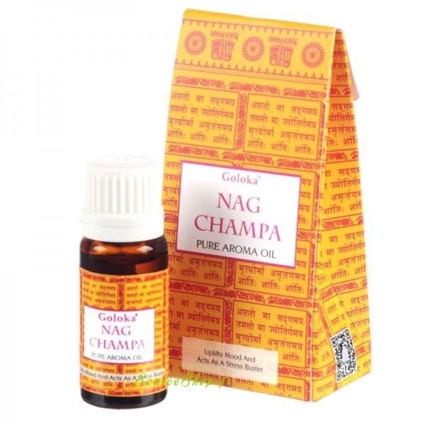 Huile aromatique Nag Champa - Goloka