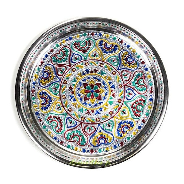 Plat / Plateau Mandala - Fleur de Vie