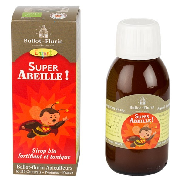 "Sirop fortifiant & tonique BIO ""Super Abeille"""