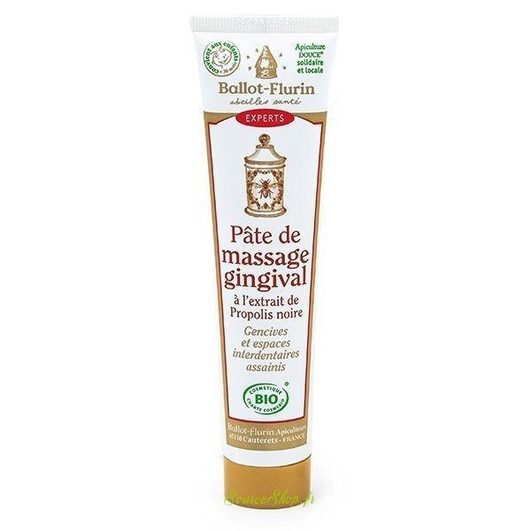 Pâte de massage gingival BIO à la Propolis - 75ml - Ballot Flurin