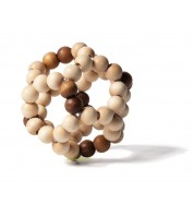 Balle flexible en bois Nature