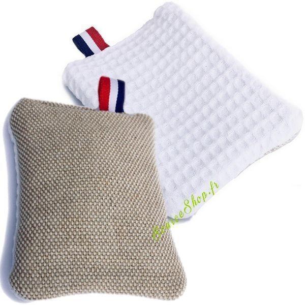 Eponge durable & lavable en jute - français & artisanal - HeyJute
