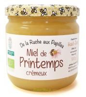 Miel de printemps BIO crémeux du Haut-Jura