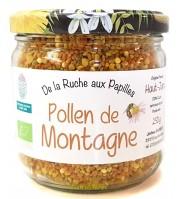 Pollen de montagne BIO du Haut-Jura