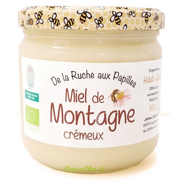 Miel de montagne BIO crémeux du Haut-Jura
