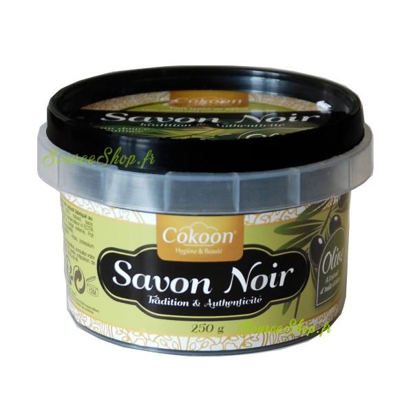 Savon noir à l'huile d'olive - 250g - Cokoon
