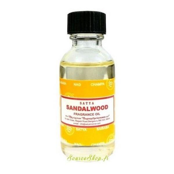 Huile parfumée Bois de Santal