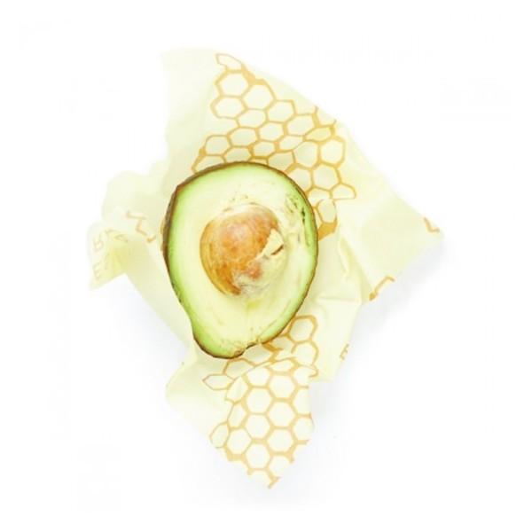 Emballage alimentaire à la cire d'abeille - Medium - Angie be Green