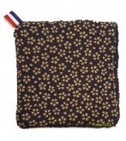 Lingette réutilisable & lavable - fibre de bambou BIO GOTS