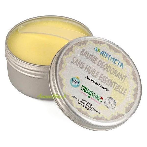 Déodorant baume BIO nature - sans huiles essentielles