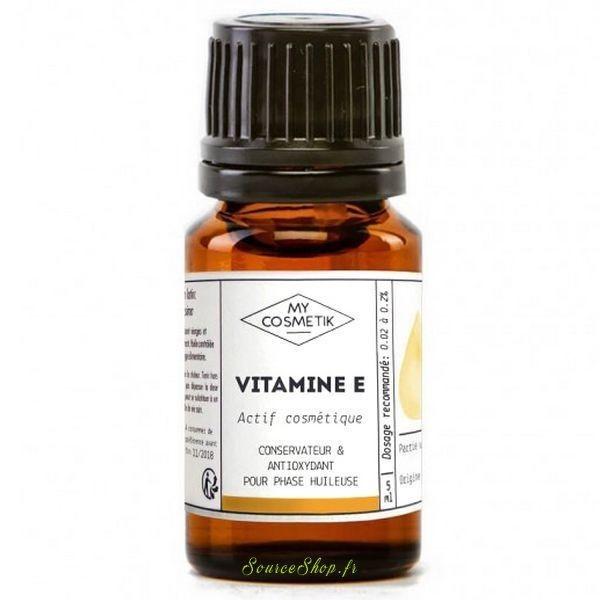 Vitamine E - MyCosmetik