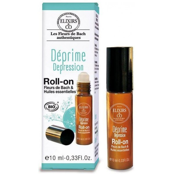 Roll-On Déprime BIO - Fleurs de Bach - 10 ml - Elixirs & Co.