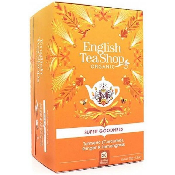 Infusion BIO au gingembre, curcuma & citronnelle - English Tea Shop