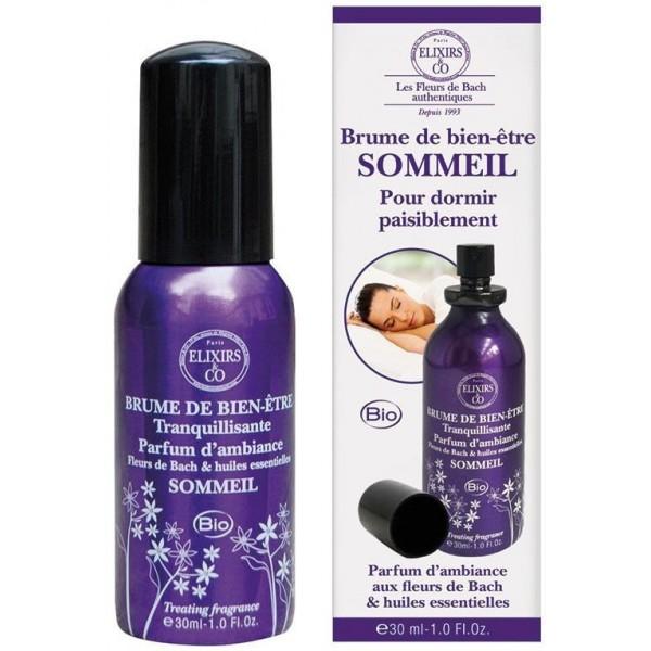 Brume Sommeil BIO - Fleurs de Bach - 30 ml - Elixirs & Co.