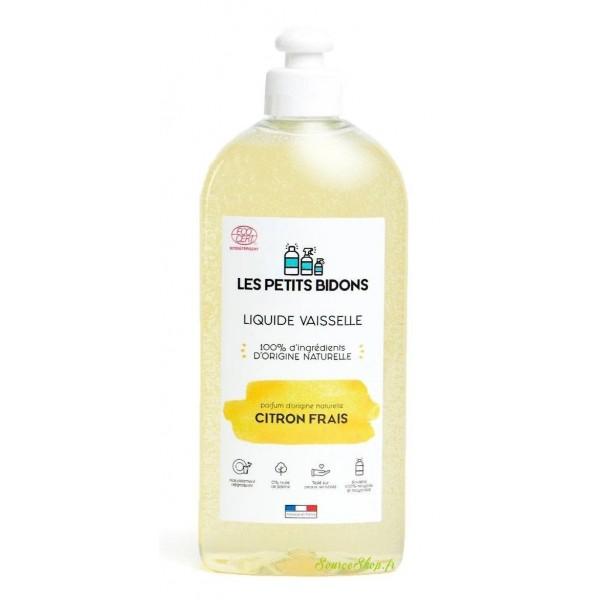 Liquide vaisselle BIO au citron frais - 500 ml - Les Petits Bidons