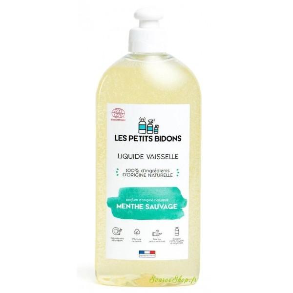 Liquide vaisselle BIO menthe sauvage - 500 ml - Les Petits Bidons