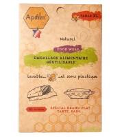 Emballage alimentaire BIO à la cire d'abeille - XL