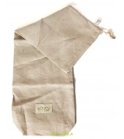Sac à baguette BIO réutilisable en lin