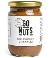 Beurre de cacahuètes BIO au chocolat