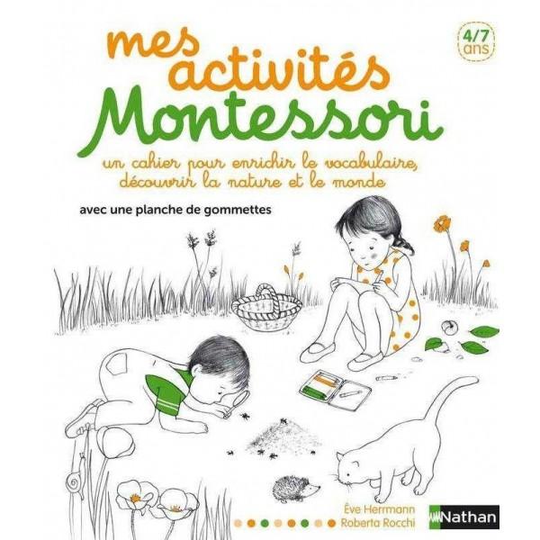Mes activités Montessori 4/7 ans - Nathan