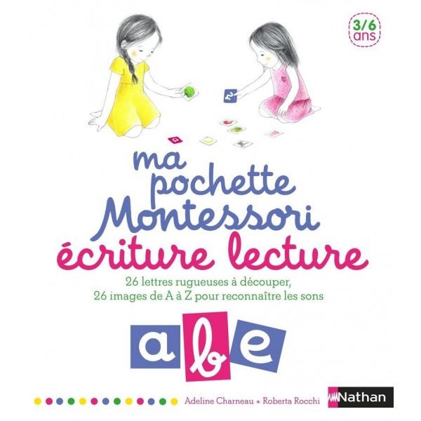 Ma pochette Montessori 3/6 ans - Ecriture & Lecture - Nathan