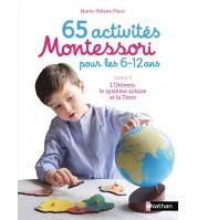65 activités Montessori 6/12 ans - L'univers