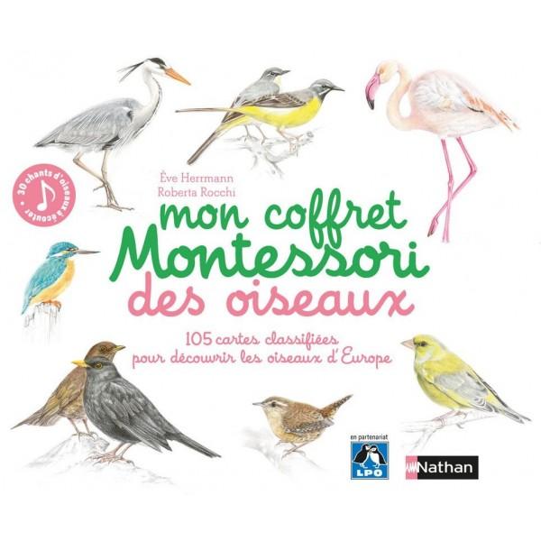 Mon coffret Montessori des oiseaux - Nathan