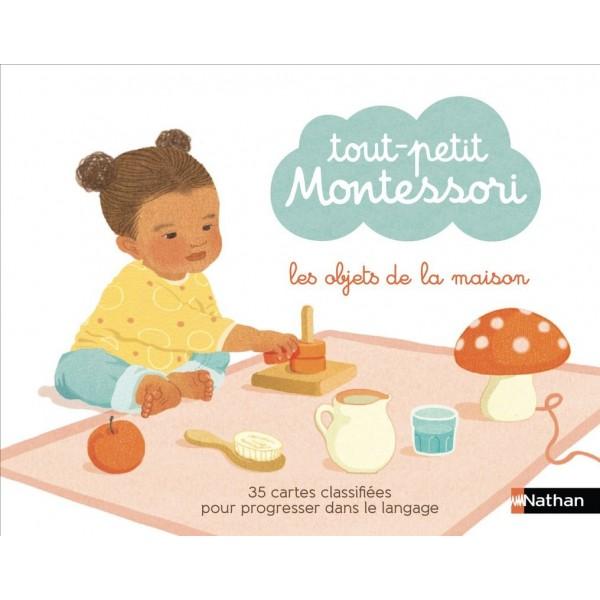 Tout-petit Montessori - Les objets de la maison - Nathan