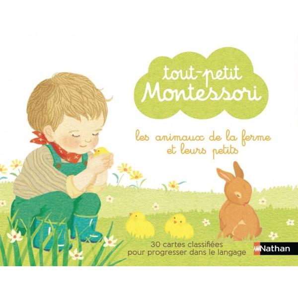 Les animaux de la ferme et leurs petits - Tout-petit Montessori
